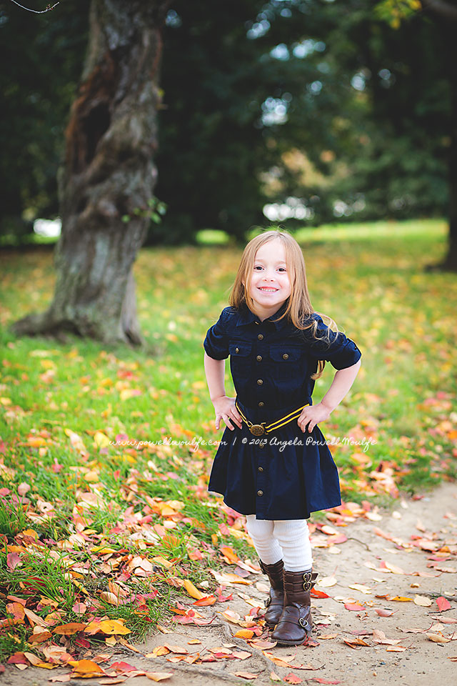 A Fall Portrait Session in Washington DC by Powell Woulfe Photography